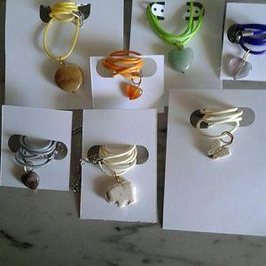 7 healing stones necklaces